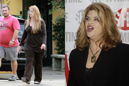 Kirstie Alley Heavy Body