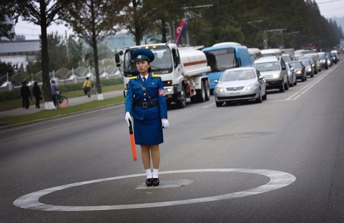 North Korea Roads