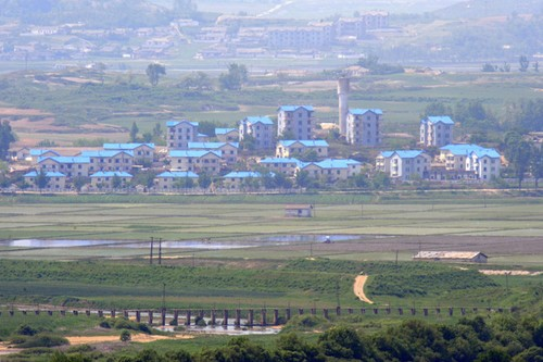 Peace Village in North Korea