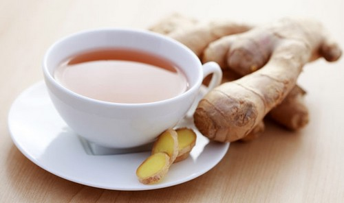 Pregnant Women Drink Ginger Tea