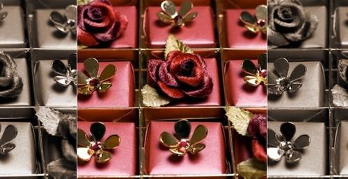 Swarovski Studded Chocolates