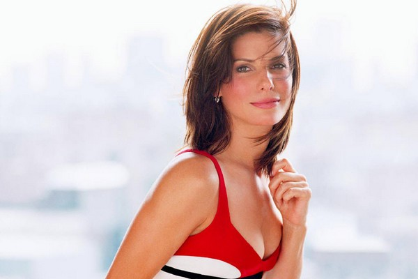 Beautiful Actress Sandra Bullock