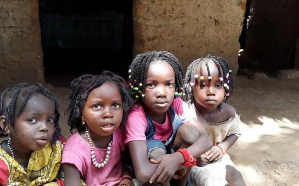 Children from Ebola in Guinea-Bissau