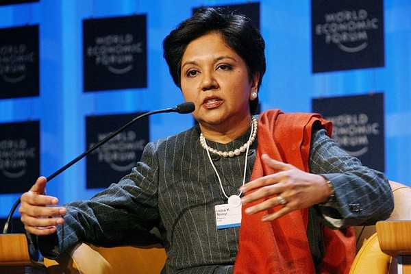 Indra Nooyi, the CEO of PEPSI Co.