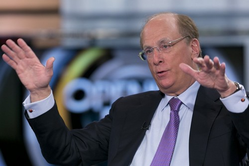 Larry Fink CEO of BlackRock