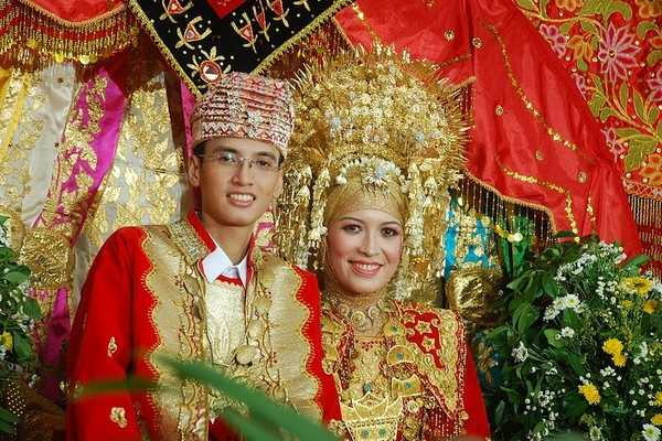 Minangkabau wedding
