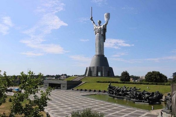 Motherland Monument in Kiev-Ukraine