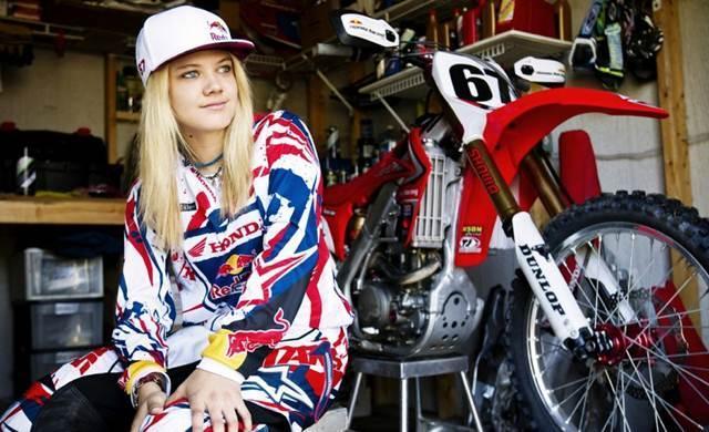 Motocross Racer Ashley Fiolek
