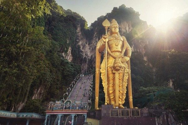 Lord Murugan statue