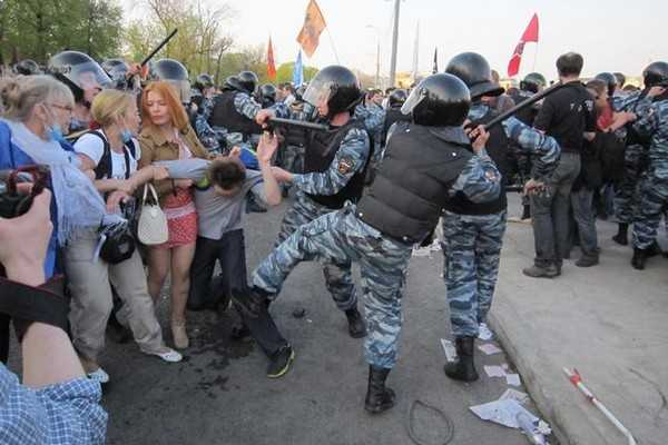 Russian police brutality