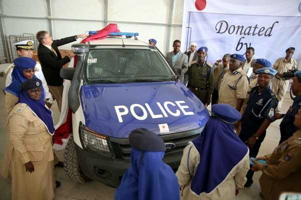 Somali police force