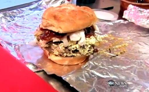 666 Douche Burger