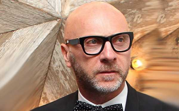 Italian fashion designer Domenico Dolce