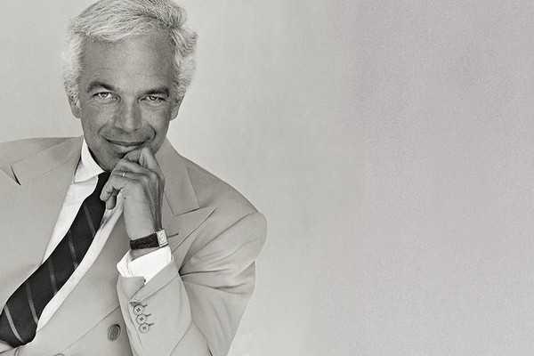 Ralph Lauren in suit & tie