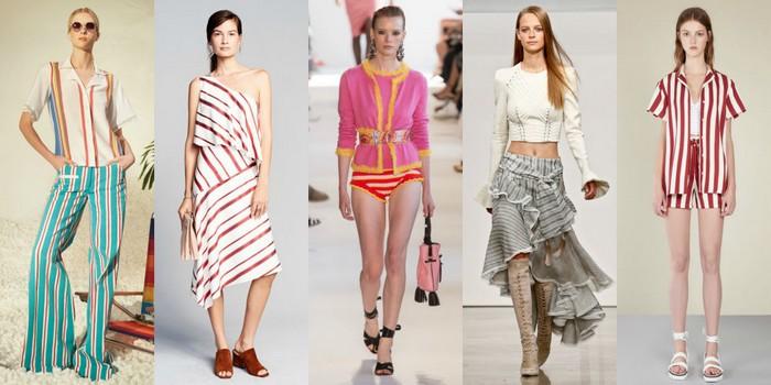 Trends spring summer 2017 beach stripes