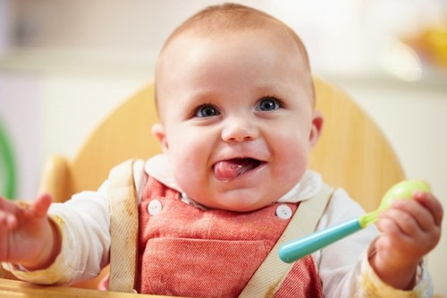 Babies Super Taste Power