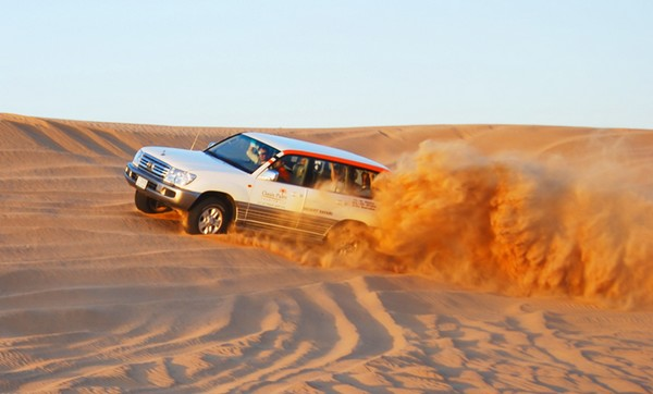 Dune Bashing Desert safaris