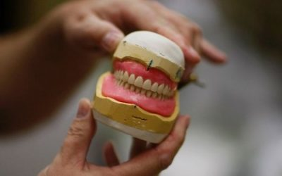 Elderly Man's Dentures Deflect Bullet