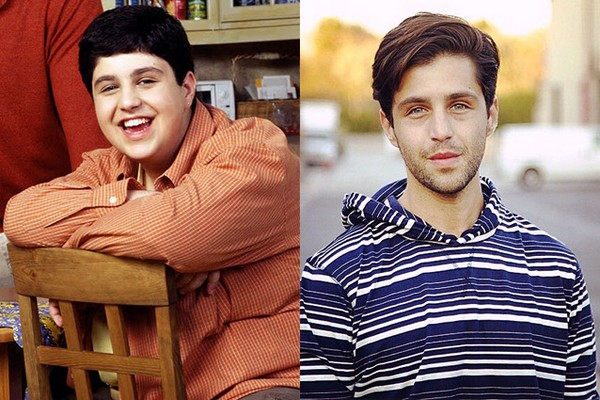 Josh Peck then and now 2017