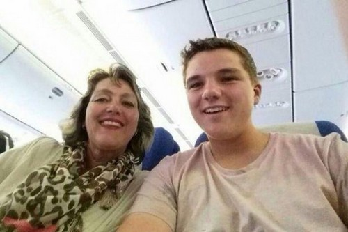 Last Selfie With Mom