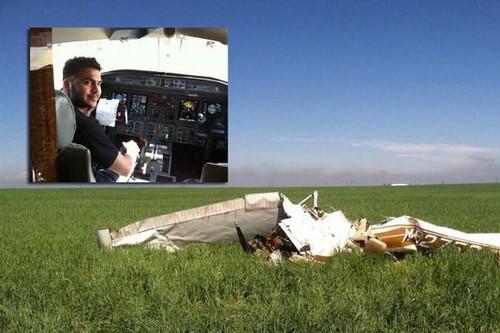 Last Selfie of a Pilot