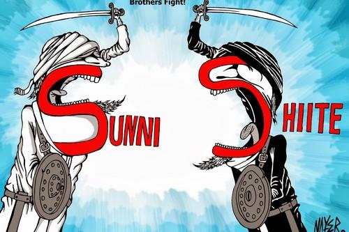 Shiites and Sunnis