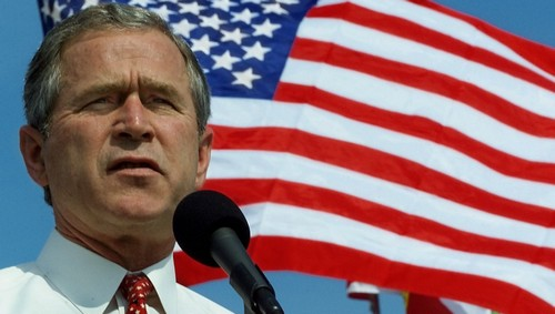 The marking of George W. Bush