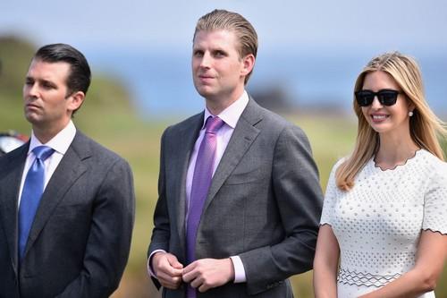 Trump Jr. Eric Trump, Ivanka Trump