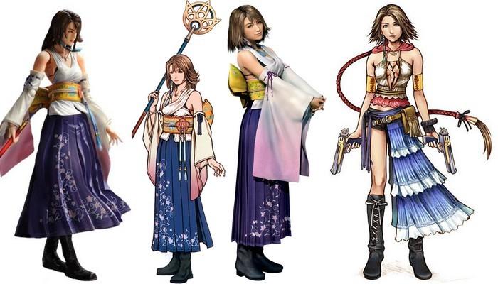 Yuna from Final Fantasy X