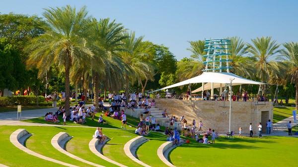 Zabeel Park Attractions Dubai