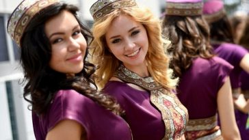 Beautiful Women of Azerbaijan