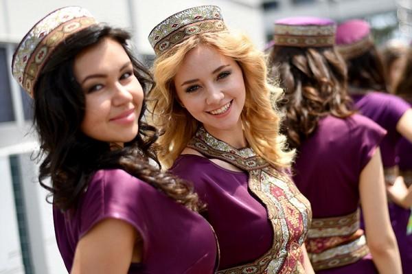 Beautiful Women of Azerbaijan