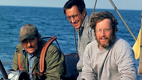 Robert Shaw and Richard Dreyfuss