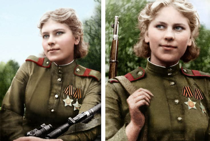 Russian Female Snipers of World War II