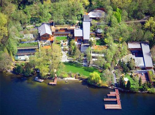 World's Most Secure Bill Gates new house