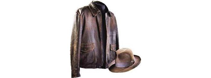 Indiana Jones' Jacket and Fedora