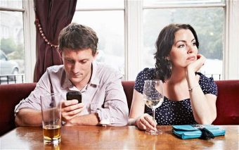 Looking At Your Phone During A Conversation Hurts Us