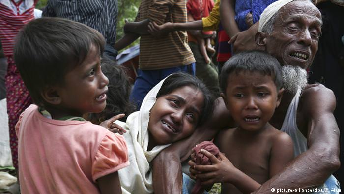 Rohingya people in Myanmar