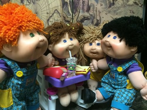 Snack Time Cabbage Patch Doll