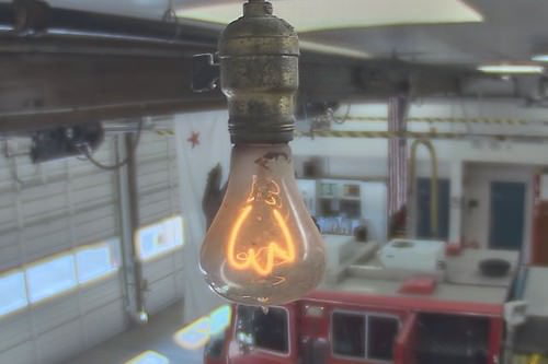 longest burning light bulb
