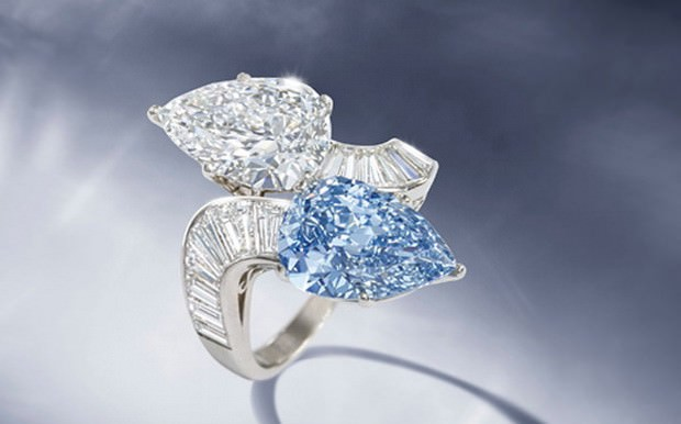 Blue Diamond Ring Bulgari