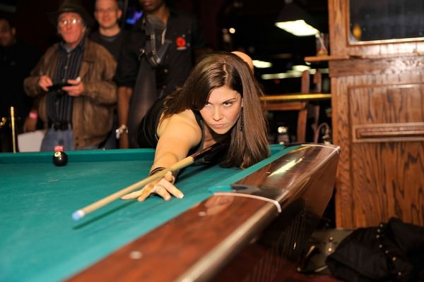 hottest women pool players