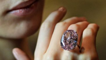 Pink Star Diamond Ring