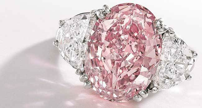 The Graff Pink Diamond Ring - $46.2 million
