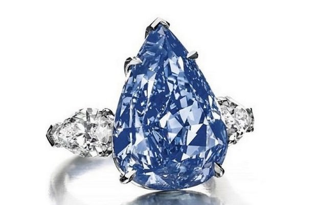 The Winston Blue Diamond Ring - $23.8 Million
