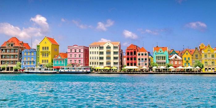 Curaçao, a Dutch Caribbean island