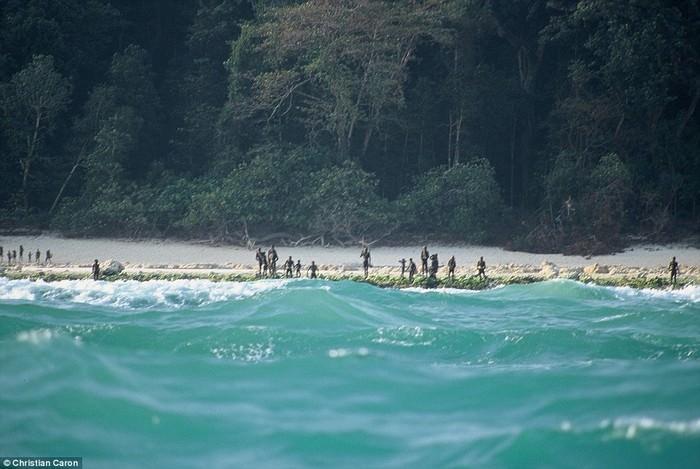 North Sentinel Island, Indian Ocean