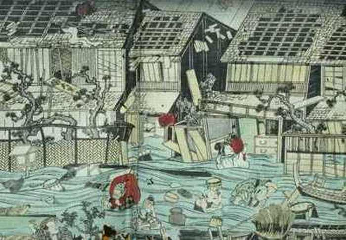Genroku Earthquake – 1703