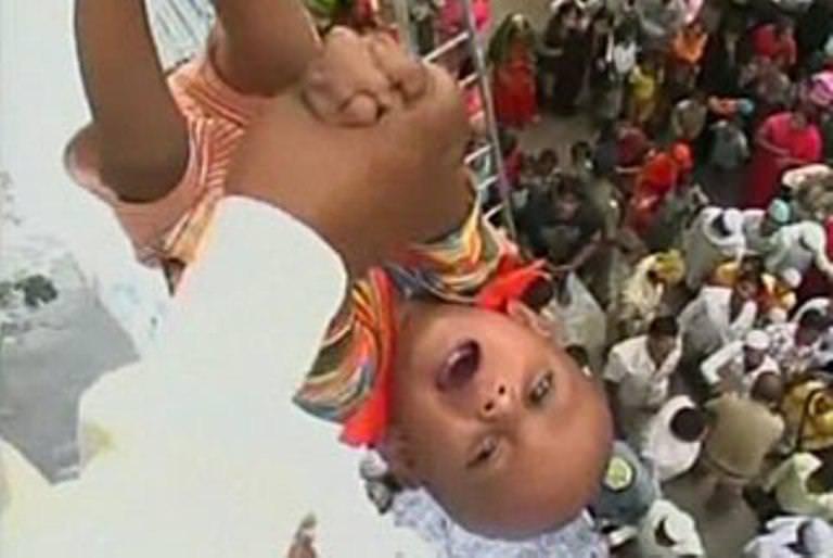 Baby Dropping Ritual