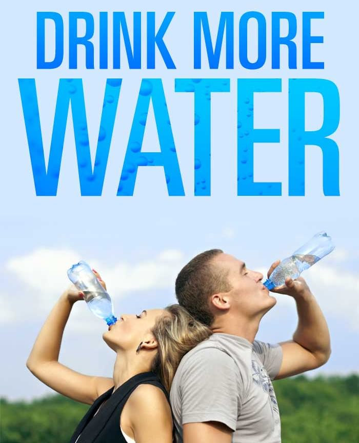 Reasons Why You Are Told To Drink More Water